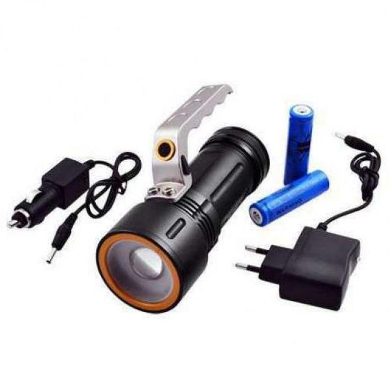 Фонарь прожектор фонарик Bailong Police BL-910 (801-9) 158000W...