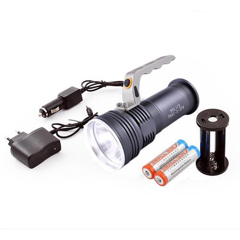 Фонарь прожектор фонарик Bailong Police BL-801-2 XPE ЗУ 220V/1...