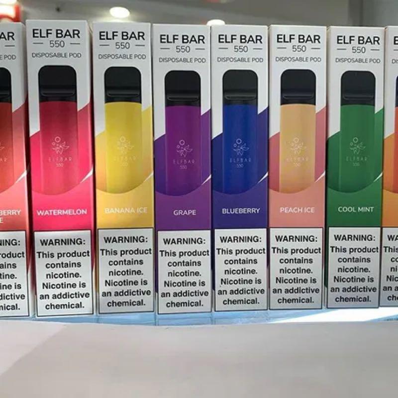 elfbar 550 электронная сигарета купить оптом
