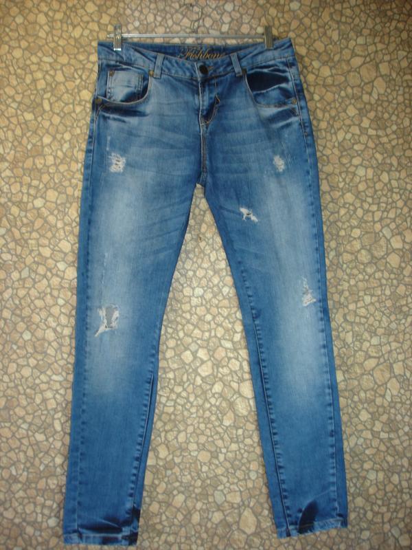 """Стильные джинсы """"fishbone"""""""