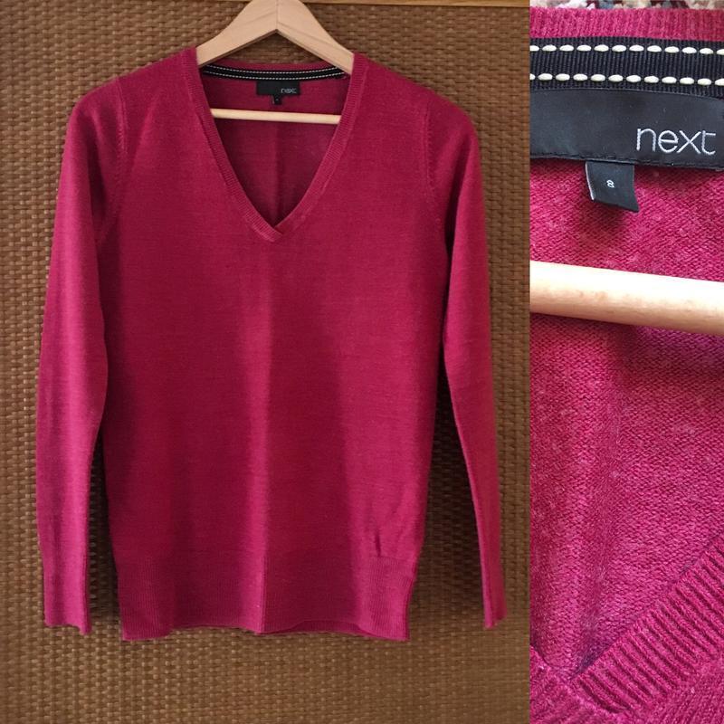Пуловер з v-вирізом next