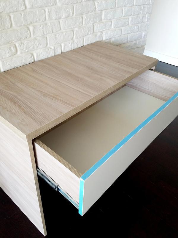 Стол ДСП с выдвижным ящиком - Фото 3