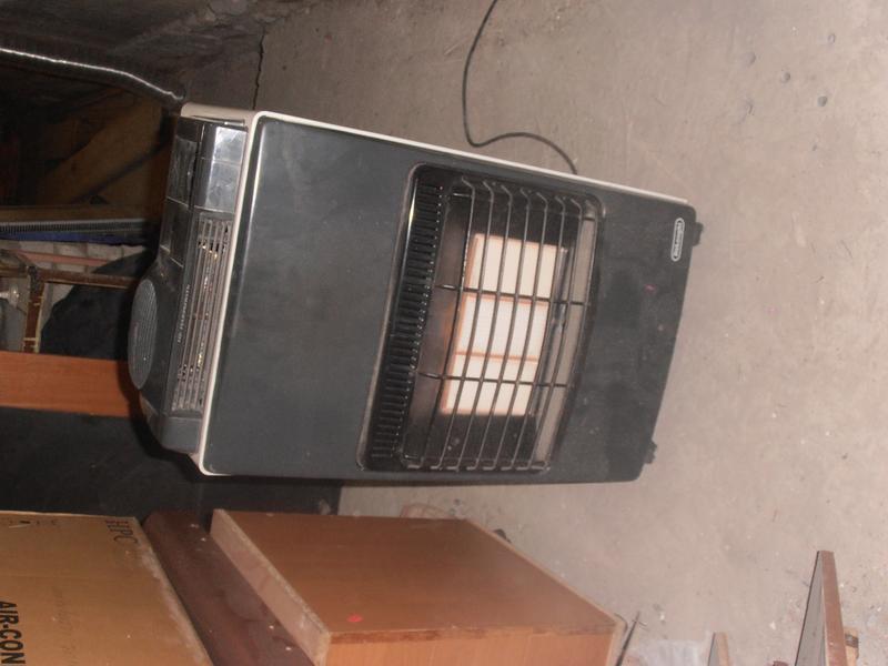 Электро-газовый обогреватель Delonghi Tropic turbo