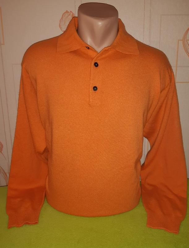 Шикарный свитер christian berg, made in madagascar