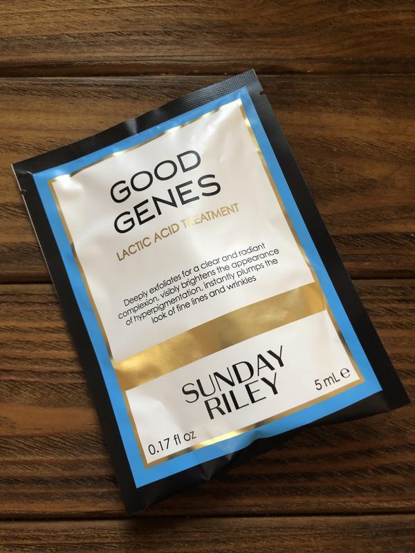 Сыворотка для лица sunday riley good genes 5 ml