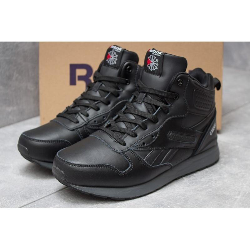 Зимние ботинки натуральная кожа reebok lx кроссовки высокие  з...