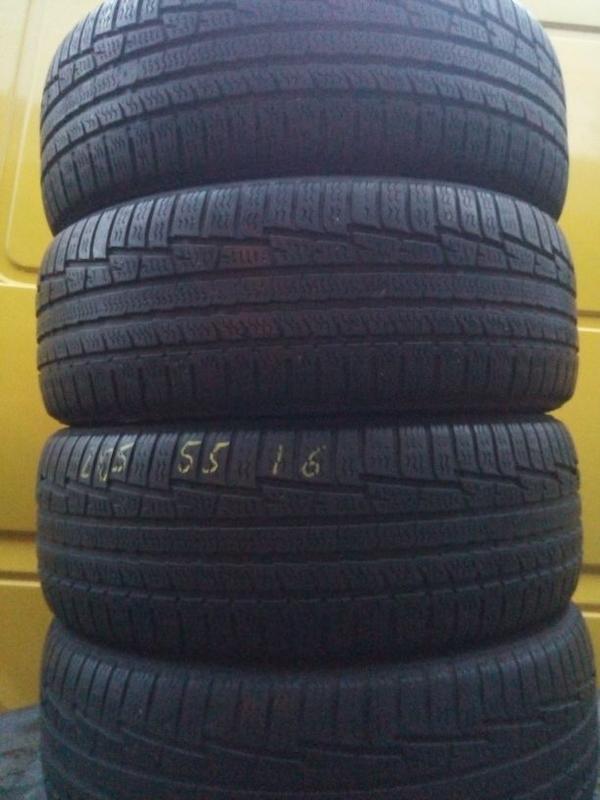 Шини резина зимние Nokian 205/55/16 ціна за 4 шт