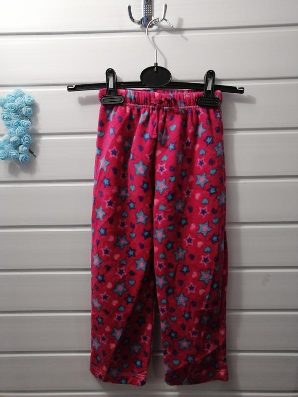 Флисовые пижамные штаны с начесом lupilu