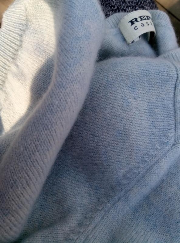 Красивый свитер 100%кашемир раз.  m-l