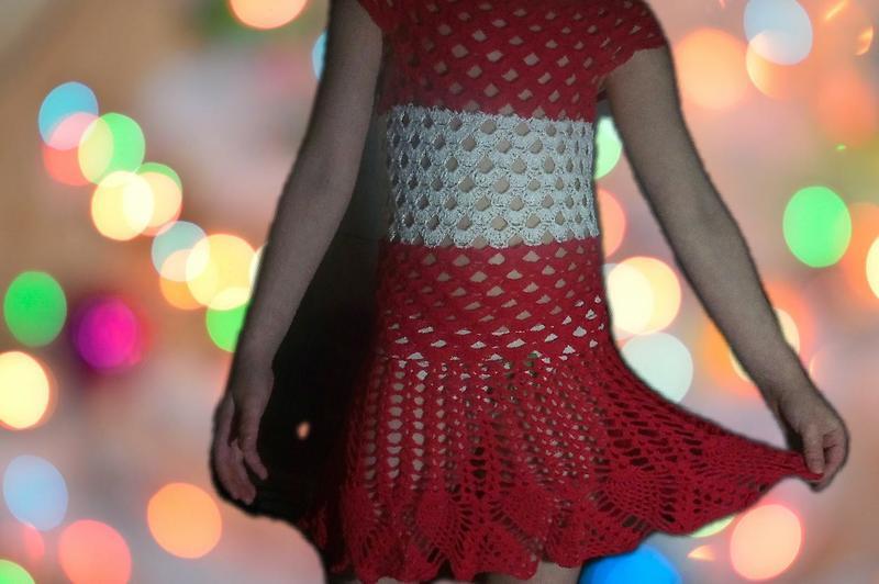 Свяжу на заказ платья для девочки крючком! - Фото 4