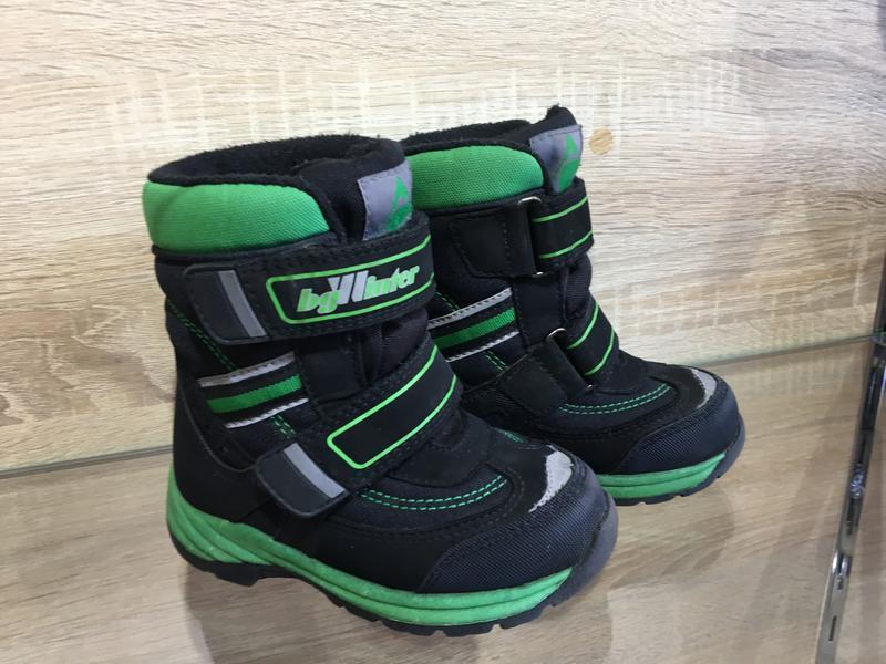 Зимние термо ботинки на мальчика 25 размер