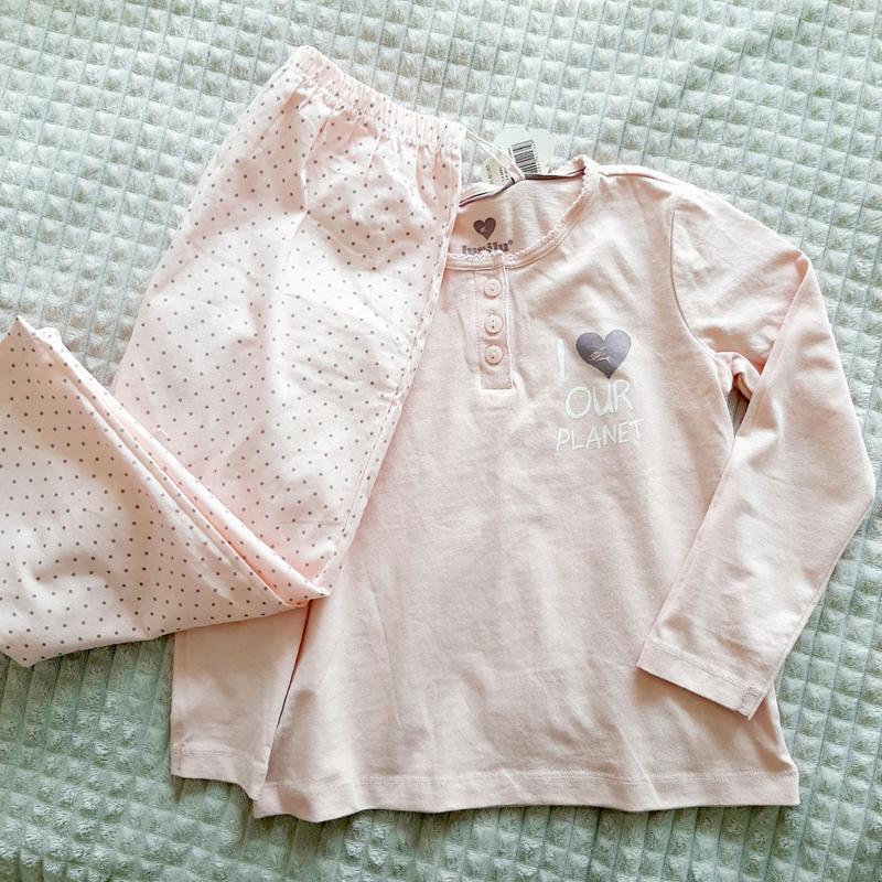 Розовая пижама для девочки 98/104 (2-4года) германия оригинал ...