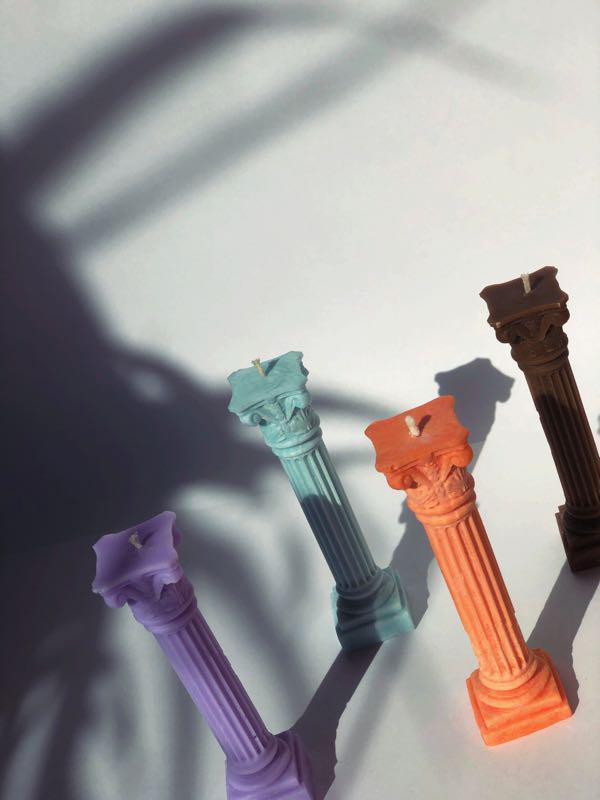 Свічки ручної роботи/свечи ручной работы