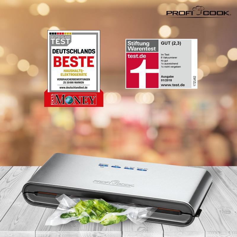 Вакуумный упаковщик Profi Cook® PC-VK 1080 120 Вт Germany - Фото 3