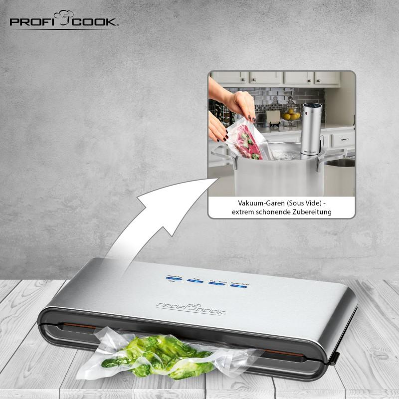 Вакуумный упаковщик Profi Cook® PC-VK 1080 120 Вт Germany - Фото 6