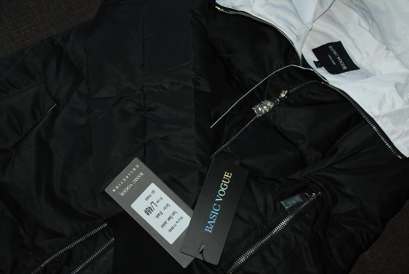L / 46-48 длинный зимний стильный пуховик кокон одеялко  basic... - Фото 5