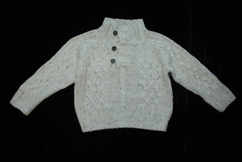 Стильный свитер rebel на мальчика 2-3 лет 98см