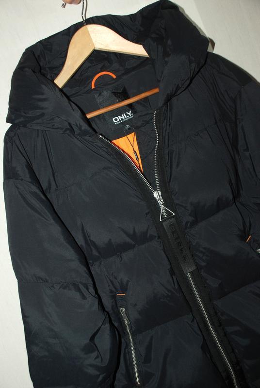 Моднявый бомбический зимний теплый пуховик куртка оверсайз only - Фото 8
