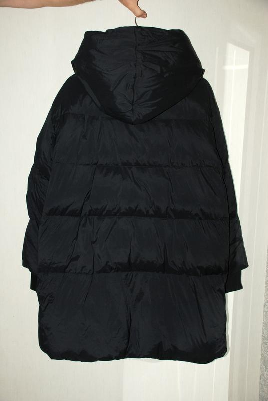 Моднявый бомбический зимний теплый пуховик куртка оверсайз only - Фото 9