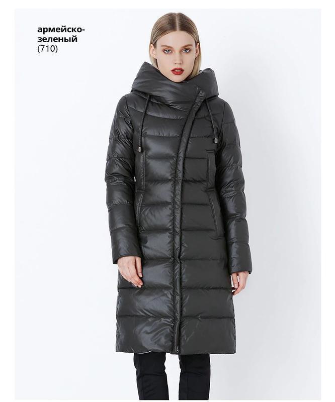 Xl/48, xxl/50 качественный теплый зимний стильный длинный пухо...