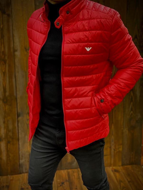 Куртка мужская осень весна - Фото 2