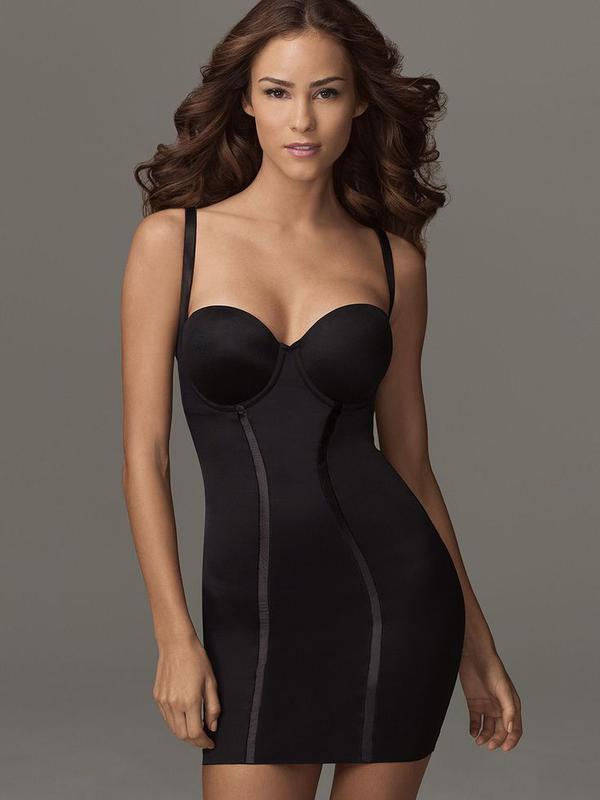 75dd / 34dd корректирующее утягивающее платье корсет комбинаци...