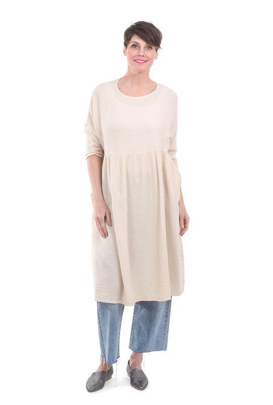 Прозрачное платье туника с длинным рукавом tall - Фото 6