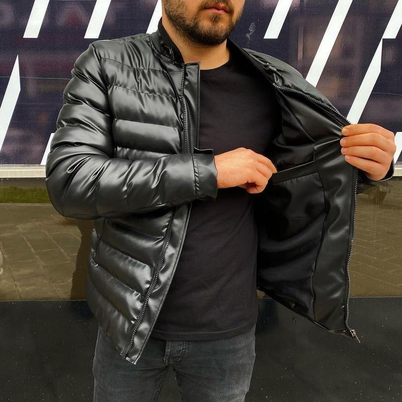 Мужская куртка мужская одежда - Фото 3