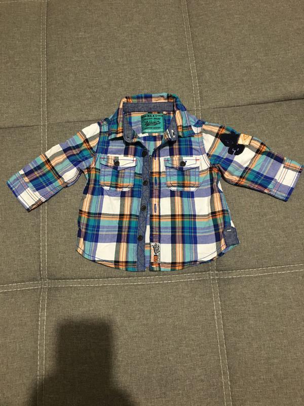 Рубашка next детская