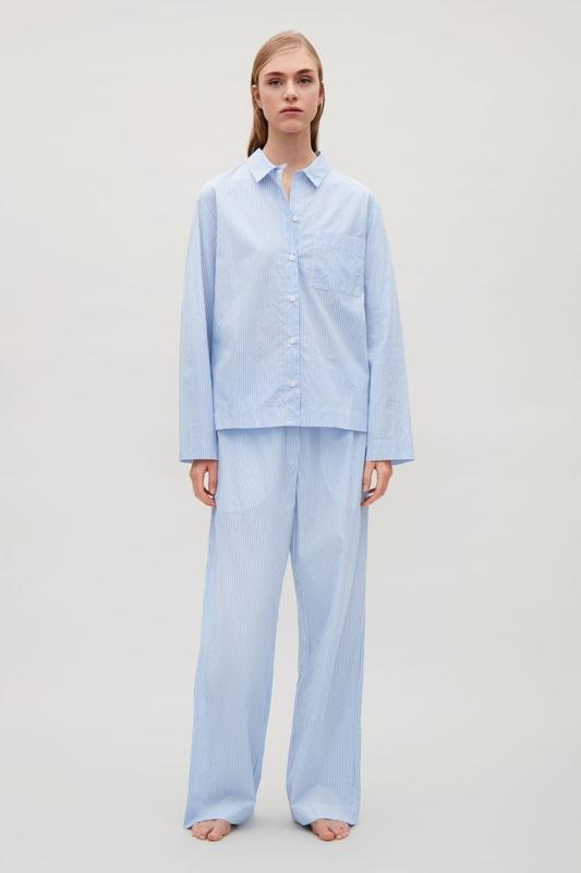 Пижамная рубашка cos пижама