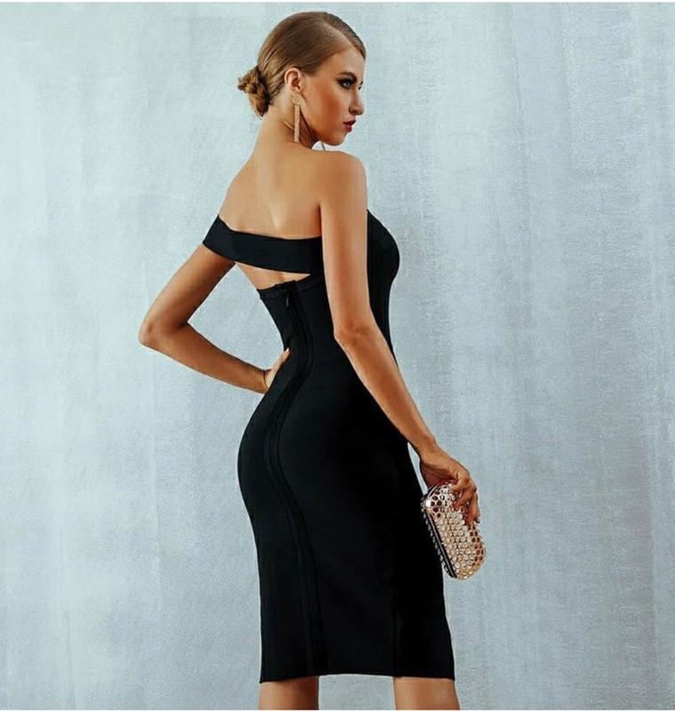 Бандажное платье herve leger - Фото 2