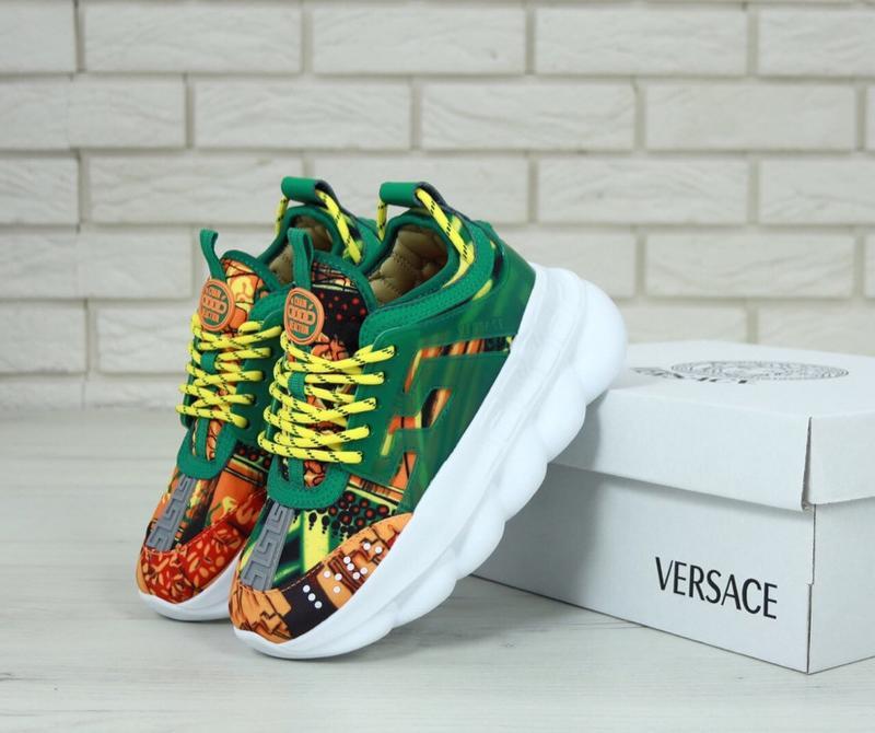 Кроссовки женские Versace Chain Reaction Sneakers