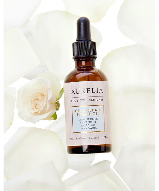 Ночное масло для лица aurelia probiotic skincare cell repair n...
