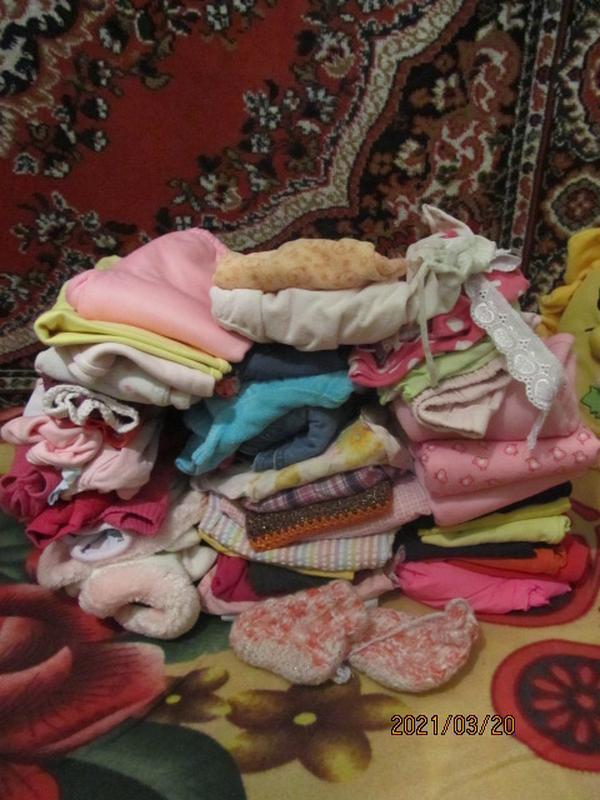 Набор вещей для девочки 6-18 месяцев