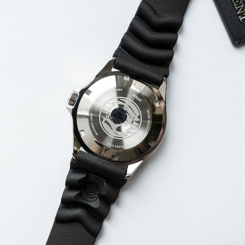Часы наручные дайвер Orient Ray II Blue - оригинал с документами - Фото 4