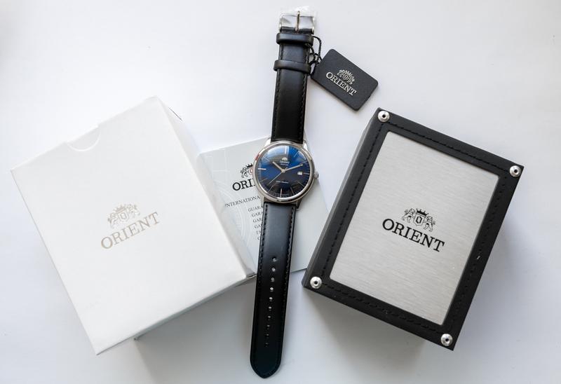 Наручные часы Orient Bambino (2nd generation) Blue - Фото 4