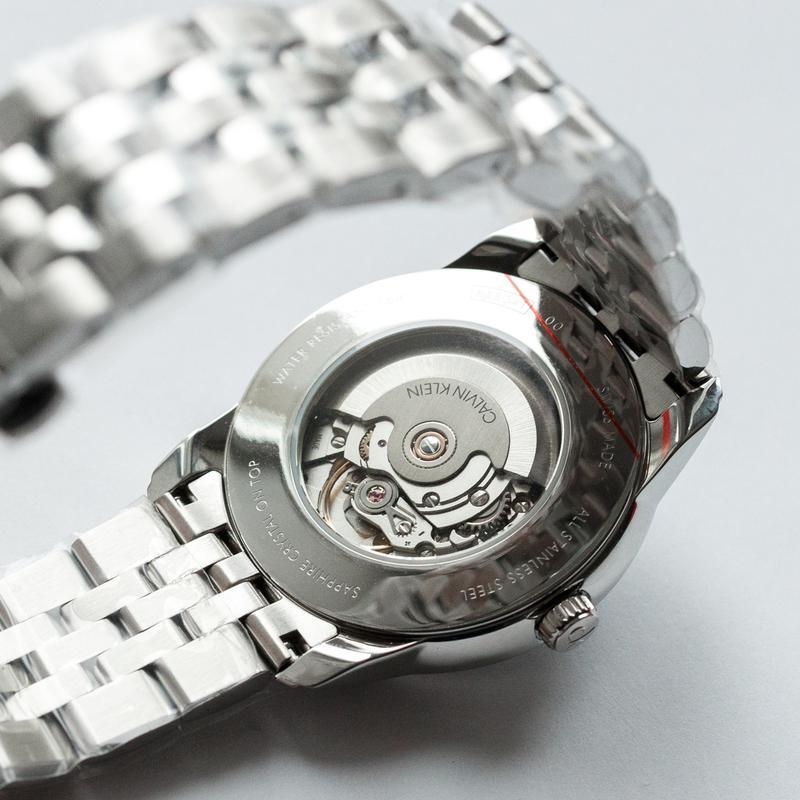 Часы мужские Calvin Klein - Swiss Made механика, ЕТА 2824-2 - Фото 3
