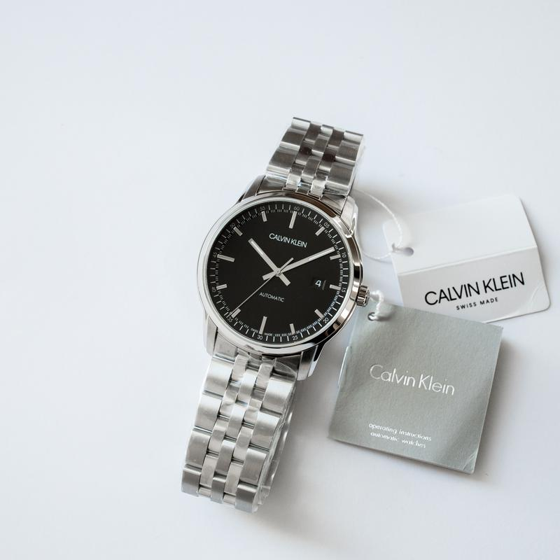 Часы мужские Calvin Klein - Swiss Made механика, ЕТА 2824-2