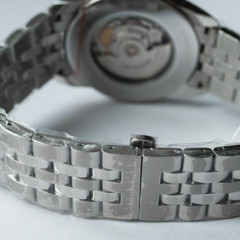 Часы мужские Calvin Klein - Swiss Made механика, ЕТА 2824-2 - Фото 6