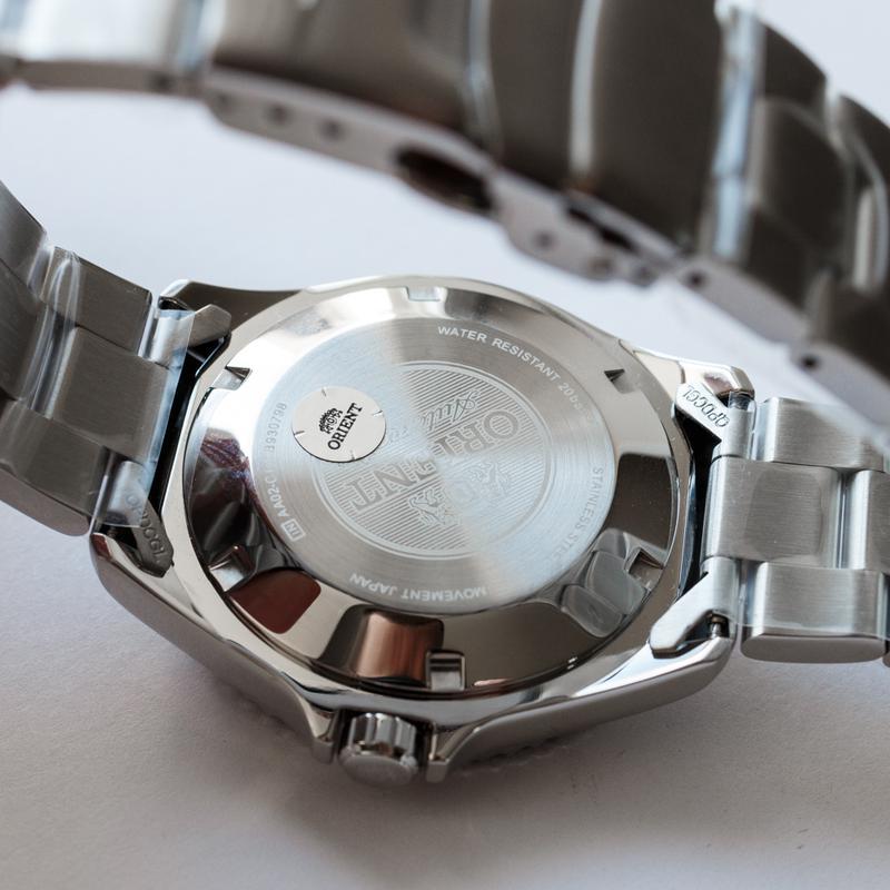 Часы дайвер Orient Mako II Blue, оригинал с документами, новые - Фото 6