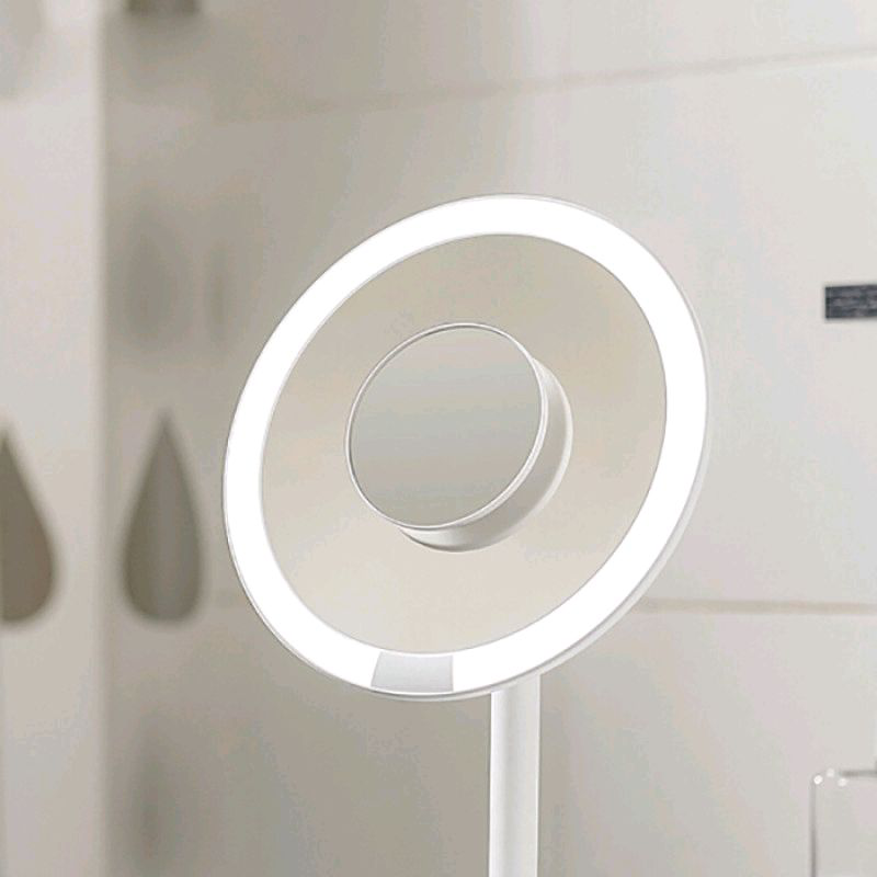 Зеркало портативное с подсветкой Xiaomi Amiro Mini 6.5 портативно