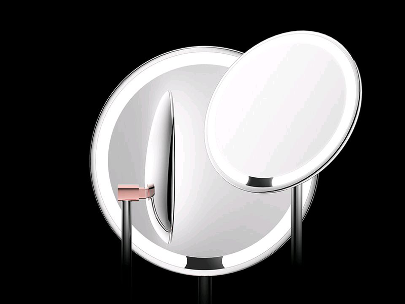 Зеркало портативное с подсветкой Xiaomi Amiro Mini 6.5 портативно - Фото 3