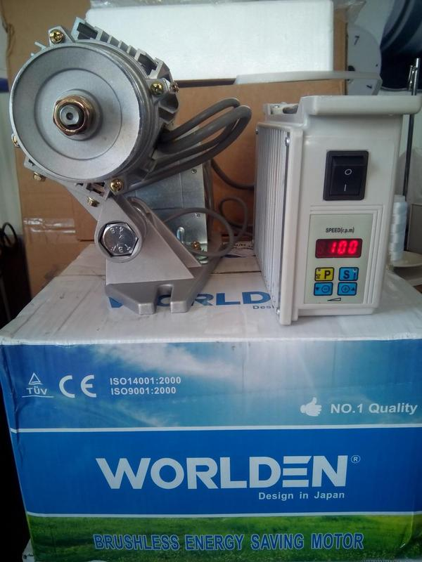 Серводвигатель 550W от 100 об/мин для промышленных швейных машин - Фото 2
