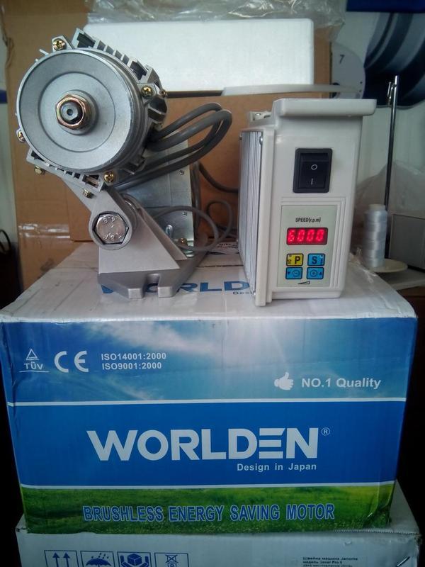 Серводвигатель 550W от 100 об/мин для промышленных швейных машин - Фото 3