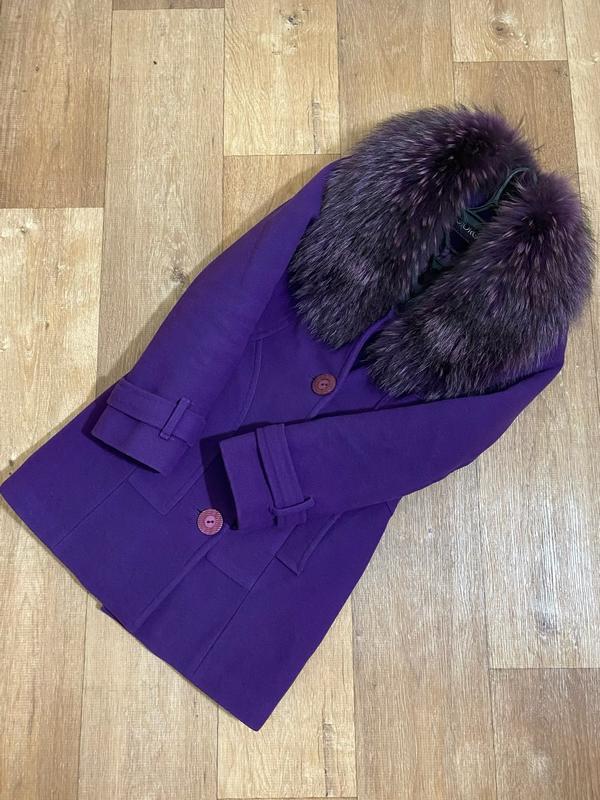 Зимнее женское мех пальто хутро тренч с мехом????демисезонное енот