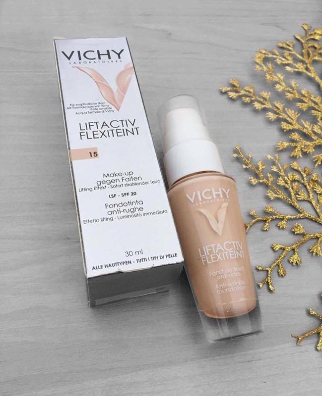 Тональный крем от фирмы Vichy ( жидкий флюид, сияние кожи)