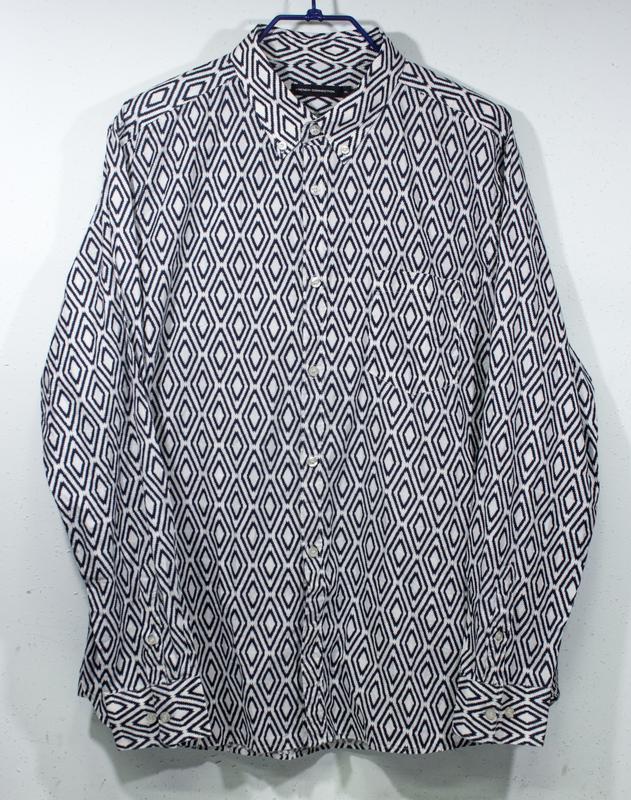Рубашка мужская french conection  размер xl