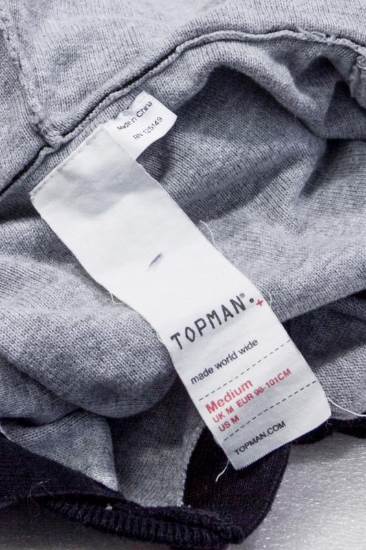 Реглан мужской topman  размер  m - Фото 4