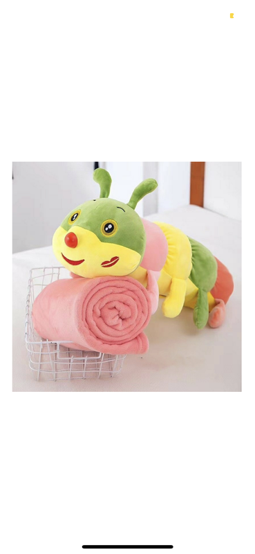 Подушка игрушка плед