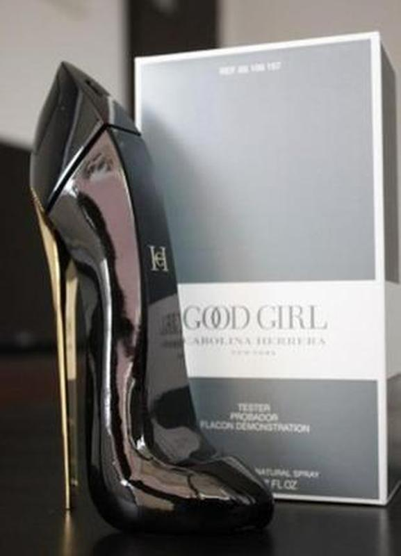 Парфюмированная вода саrolina herrera good girl 80 ml - тестер...
